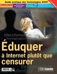 Audrey Miller et Martine Rioux - L'École branchée  : Éduquer à Internet plutôt que censurer.