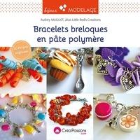 Audrey Muguet - Bracelets breloques en pâte polymère.