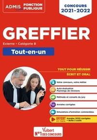 Mohamed Nehal et Audrey Pouplin - Concours Greffier - Catégorie B - Tout-en-un - Annales 2020 offertes - Concours externe 2021-2022.