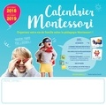 Audrey Zucchi - Calendrier Montessori - Septembre 2018-décembre 2019.