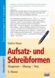 Aufsatz- und Schreibformen 5. Klasse - Diagnose - Übung - Test.