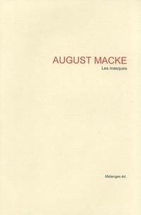 August Macke - Les masques.