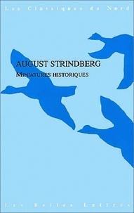 August Strindberg - Miniatures historiques.