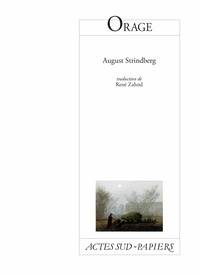 August Strindberg - Orage.