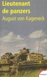 August von Kageneck - Lieutenant de panzers.