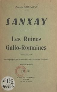 Auguste Coynault - Sanxay - Les ruines gallo-romaines.