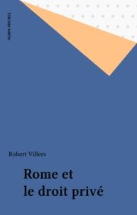 Auguste de Villiers de L'Isle-Adam - Rome et le droit privé.