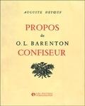 Auguste Detoeuf - Propos de O.L. Barenton confiseur, ....