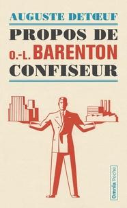 Auguste Detoeuf - Propos de O.L. Barenton - Confiseur.