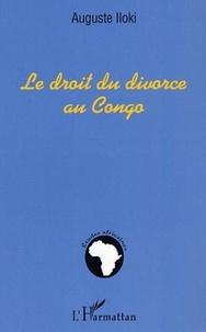 Auguste Iloki - Le droit du divorce au Congo.