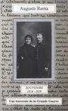 Auguste Rama - Souvenirs 1914-1919 - Une traversée de la Grande Guerre.