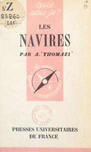 Auguste Thomazi et Paul Angoulvent - Les navires.