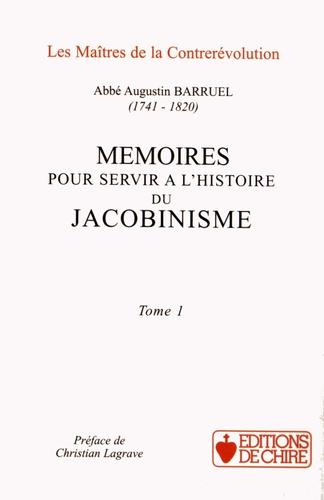 Augustin Barruel - Mémoires pour servir à l'histoire du jacobinisme - Coffret 2 tomes.