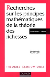 Augustin Cournot - .