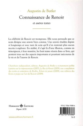 Connaissance de Renoir et autres textes