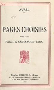 Aurel et  Mandel - Pages choisies.