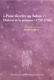 Aurélia Gaillard - Pour décrire un Salon : Diderot et la peinture (1759-1766).