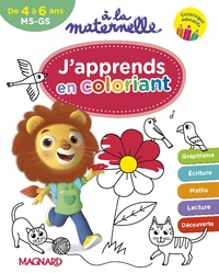 Galabria.be A la maternelle, J'apprends en coloriant MS-MS Image