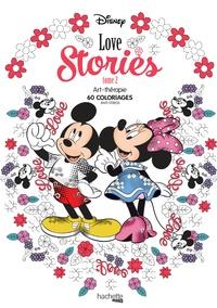 Disney Love Stories Tome 2- 60 coloriages anti-stress - Aurélia-Stéphanie Bertrand |