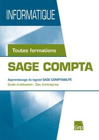 Aurélie Berger - SAGE Compta - Apprentissage du logiciel SAGE Comptabilité.