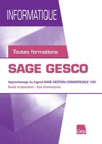 Aurélie Berger - SAGE GESCO - Apprentissage du logiciel SAGE gestion commerciale 100.