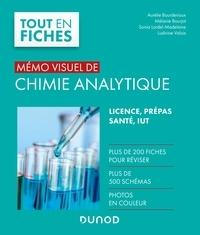 Aurélie Bourderioux et Mélanie Bourjot - Mémo visuel de chimie analytique.