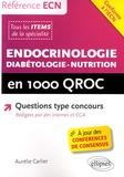 Aurélie Carlier - Endocrinologie - diabétologie - nutrition en 1000 QROC.