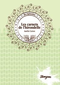 Aurélie Carton - Les carnets de l'hirondelle.