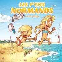 Aurélie Derreumaux et Laurent Granier - Les P'tits Normands à la plage.