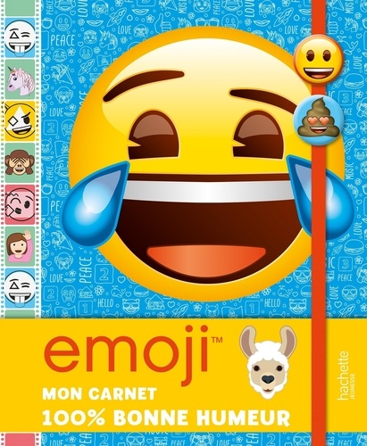 Emoji Mon Carnet 100 Bonne Humeur Grand Format