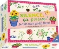 Aurélie Desfour et Elisabeth Dumont-Le Cornec - Je fais mon jardin fleuri - Coffret avec 2 pots, des graines et de la terre.