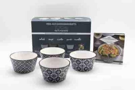 Aurélie Desgages - Coffret mes accompagnements 100% faits maison - Avec 4 bols en céramique.