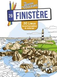 Aurélie Engel - 29 Finistère - 30 lieux incontournables à colorier.