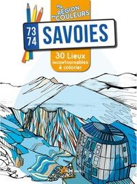 Aurélie Engel - Savoies (73-74) - 30 lieux incontournables à colorier.