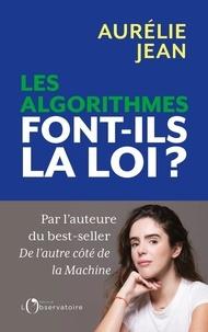 Aurélie Jean - Les algorithmes font-ils la loi ?.