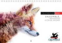 Aurélie Khelil et Christophe Coret - Calendrier Ensemble, protégeons la faune sauvage.