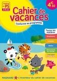 Aurélie Perrot et Marianne Dupuy-Sauze - Cahier de vacances J'entre en PS - 2-3 ans.