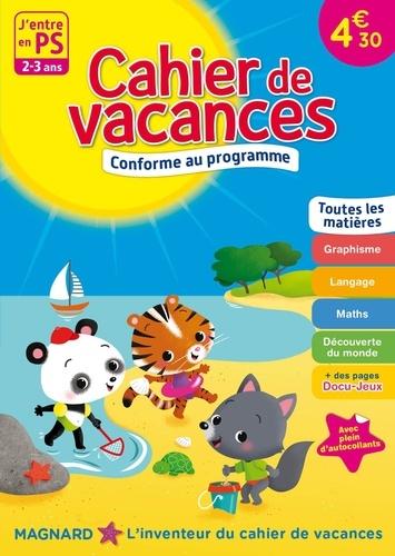 Cahier de vacances J'entre en PS. 2-3 ans