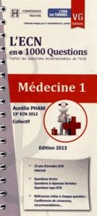 Aurélie Pham - Médecine 1 - L'ECN en + 1000 Questions.