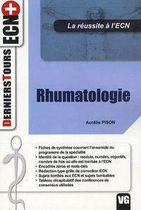 Aurélie Pison - Rhumatologie.