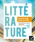 Aurélie Renault et Françoise Besson - Littérature - Anthologie pour le lycée.
