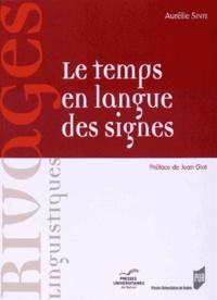 Aurélie Sinte - Le temps en langue des signes. 1 DVD