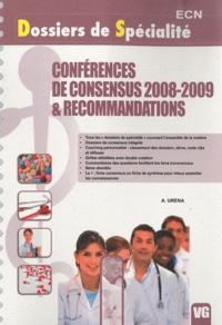 Aurélie Urena - Conférences de consensus 2008-2009 & recommandations.