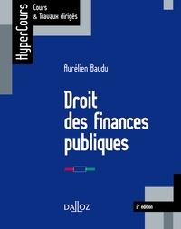 Aurélien Baudu - Droit des finances publiques.