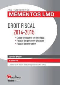 Deedr.fr Droit fiscal 2014-2015 Image
