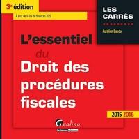 Era-circus.be L'essentiel du droit des procédures fiscales 2015-2016 Image