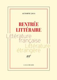 Aurélien Bellanger et Philippe Bordas - Extraits gratuits - Rentrée littéraire Gallimard 2014.