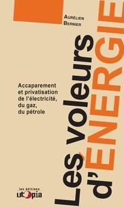 Aurélien Bernier - Les voleurs d'énergie - Accaparement et privatisation de l'électricité, du gaz, du pétrole.