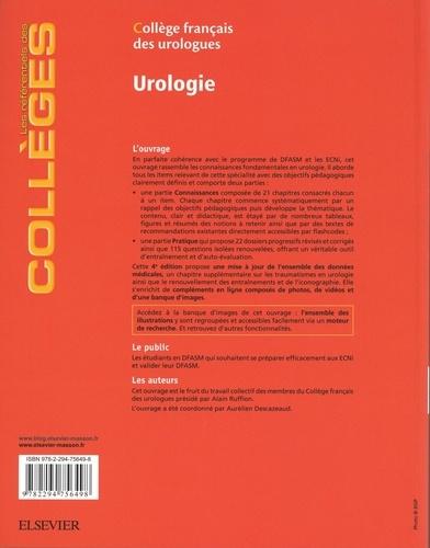 Urologie 4e édition