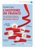 Aurélien Fayet - L'histoire de France - Une synthèse de référence pour retenir l'essentiel des grandes périodes.